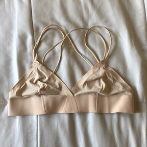 Urban outfitters straps back bralette